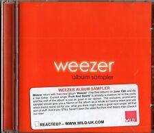 WEEZER - Album Sampler - (5 Track CD Promo) - Pork And Beans / Troublemaker