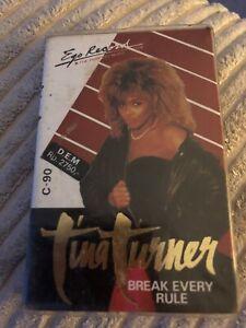 Tina Turner - Break Every Rule - Cassette Tape