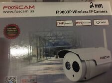 FosCam Wireless IP Camera 720P FI9803P 2MM Ultra Wide Angle Lens Installed
