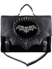 Restyle Magic Bat Tas Cameo Bag Satchel Bat Wings Gothic Occult
