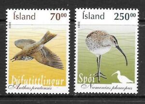 ICELAND - 2003.  Birds (3rd) - Set of 2, MNH