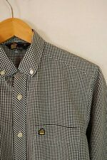 Admiral Long Sleeve Check Gingham Shirt Small VGC