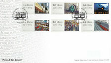 (42371) GB FDC Post and Go Mail by Rail Hemel Hempstead 2017