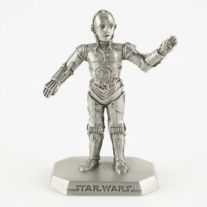 C-3PO | Vintage 1990s Star Wars Figure by Rawcliffe Pewter