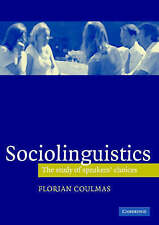 Sociolinguistics: The Study of Speakers' Choices, Good Condition Book, Coulmas,