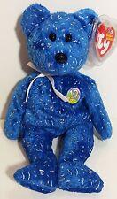 "TY Beanie Babies ""DECADE (blue)"" 10th Anniversary Teddy Bear - MWMT! GREAT GIFT!"