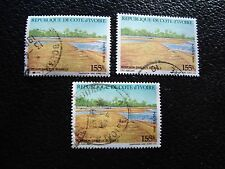 COTE D IVOIRE - timbre yvert/tellier n° 778 x3 obl (A28) stamp