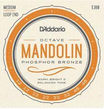 D'Addario EJ80  Phosphor Bronze Octave Mandolin Strings Medium 12-46 J80