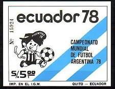 Ecuador Michelnummer Block 85 postfrisch