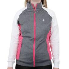 Ropa deportiva de mujer chaqueta de color principal gris