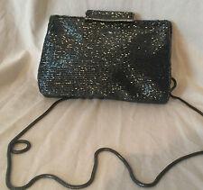 La Royale  Art Deco Styling Beaded Evening Bag