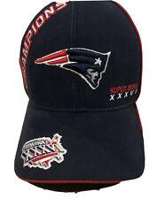 Ne Patriots Reebok Brand New Super Bowl 36 Xxxvi One Size Hat Great Collectible!