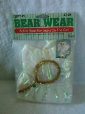 "New Bear Wear Angel Fashion 12"" Bear Westwater Enterprises"