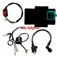 Pit Dirt Bike CDI Ignition Coil Kill Switch Wiring Harn 110cc 140cc Taotao Lifan