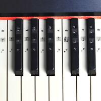 Autocollants de note de piano de clavier de musique démontable de 32/37/54/61/88