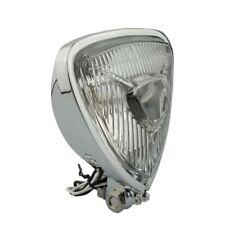 Triangle Motorcycle Headlight Head lamp fit Motorcycle Chopper Cafe Racer
