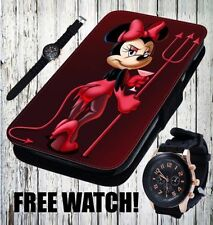 Minnie Mouse Leather Pictorial Mobile Phone Cases/Covers