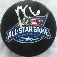 PATRIK ELIAS SIGNED 2015 ALL STAR GAME PUCK NEW JERSEY DEVILS AUTOGRAPHED COA J4