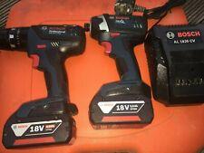 BOSCH Professional 18v LI-ION Impact driver & Hammer Drill