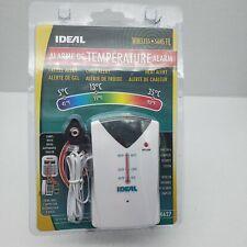 Ideal Security Wireless Temperature Alarm SK627 F C NiP