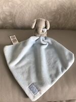 M&S Marks and Spencer blue with love elephant plush soft toy comforter