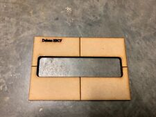 Delano SBC7-7 String Bass routing pickup template-Routing templates