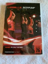 Les Mills Body Pump Release 76 DVD Music CD Choreography Training Fitness