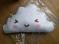 CHILDREN PLUSH FILLED CUSHION white KAWAII CLOUD SUPER SOFT gift