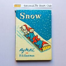 SNOW ~ Roy McKie & P.D. Eastman (Vintage, 1963). Hardcover.