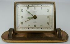 Vintage Welby 7 Jewels Germany US Zone Wind Up Alarm Clock Not Working Parts