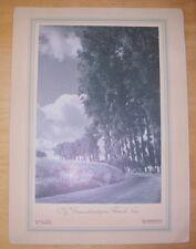 MENU PAQUEBOT ILE DE FRANCE CGT FRENCH LINE DINER 21 MARS 1951 PHOTO SCHALL