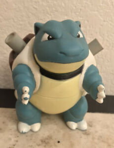 "BLASTOISE 5"" Figure NINTENDO Vintage 1998 TOMY Pokemon Toy ⭐️⭐️"