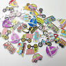 50PC Mixed Decorative Conveyance 2 Holes Sewing Wood Buttons Scrapbooking WB596