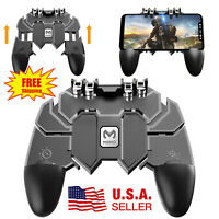 AK66 6 Finger Mobile Game Controller For PUBG Fire Key Button Joystick Gamepad