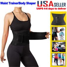 Waist Trainer Belt Waist Slimmer Body Back Support Trimmer Shaper Belt Unisex US