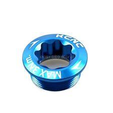 Kcnc Crank Arm Bolt M20xp1.0 For Shimano Left Arm BLUE
