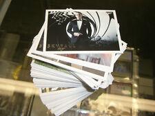 James Bond Autographs & Relics - 110 Card SILVER FOIL PARALLEL Base Set ( Autos