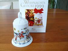 """Hutschenreuter Weihnachtsglocke 1999 - Motiv """"In den Grachten"""" -"""