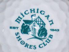 (1) Michigan Shores Est 1943 Golf Course Logo Golf Ball (Illinios)