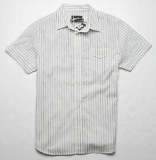 Hause of Howe A Rat Like Me Short Sleeve Woven Shirt (M) Antique White