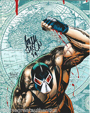 COMIC BOOK ARTIST ~ BANE CREATOR CHUCK DIXON SIGNED 8X10 PHOTO D w/COA BATMAN