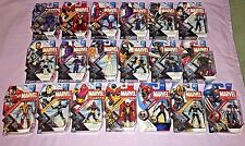MARVEL HUGE Lot of 17 3.75 Inch Action Figures All Different Series 2-5 **NEW**