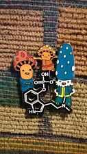 Psilocybin Molecule Magic Mushroom War Psychedelic Shrooms Fungi Molecule Pin