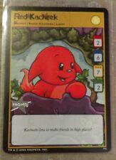 Neopets TCG Promo RED KACHEEK P4 Card Rare