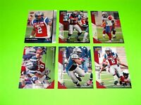 6 MONTREAL ALOUETTES UPPER DECK CFL FOOTBALL CARDS 15 46 48 49 52 129  #-4