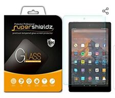 SUPERSHIEDZ PREMIUM TEMPERED GLASS SCREEN PROTECTOR FOR AMAZON FIRE HD 10 (2017)