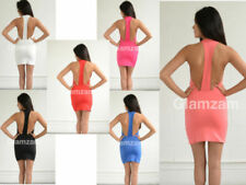 Clubwear Sleeveless Dresses Backless
