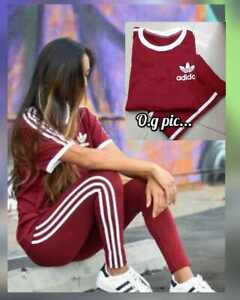 Women's Tracksuit Sweatsuit Yoga Fitness Gym Workout Track Pants