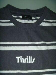 #8149 THRILLS T Shirt Size Medium