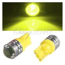 2X T10 LED 194 168 W5W Car Side Wedge Tail Yellow Light Backup Lamp Bulb New